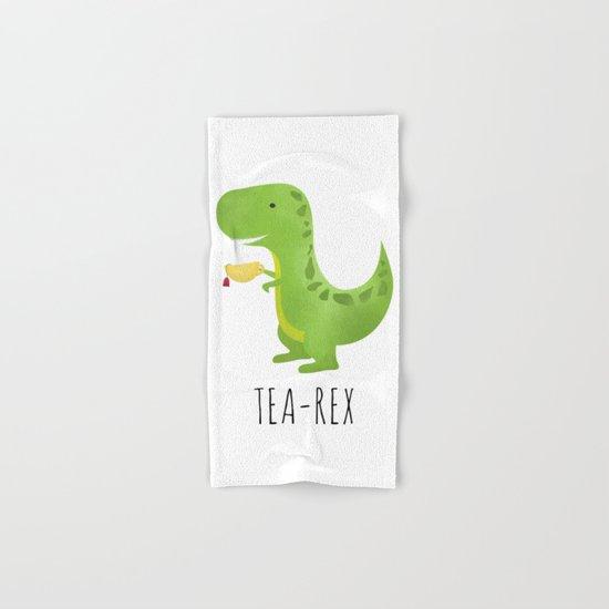 Tea-Rex Hand & Bath Towel