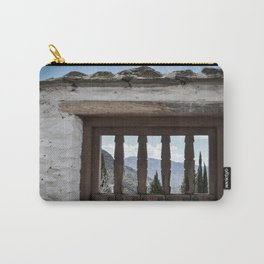 Door to the Mountains (Pueblos Blancos) Carry-All Pouch