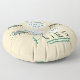 fLIES Floor Pillow