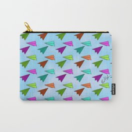 Paper Fliers Carry-All Pouch