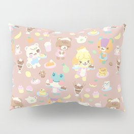 animal crossing cafe Pillow Sham