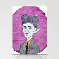 kafka Stationery Cards featuring Kafka by Dandy