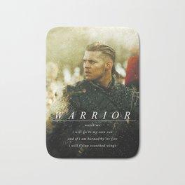 Warrior Watch Me - Ivar The Boneless Bath Mat