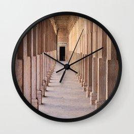 Hall of Pillars Wall Clock