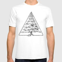 Tree in Triangle T-shirt