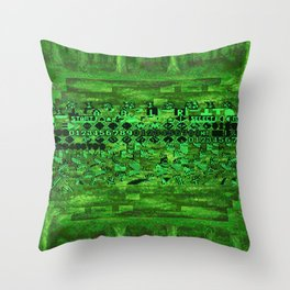 Zeromus Throw Pillow