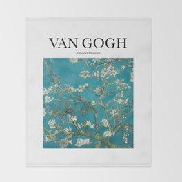 Van Gogh - Almond Blossom Throw Blanket