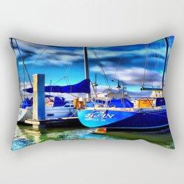 Elan Sailboat Rectangular Pillow