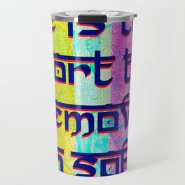 """""""Remove USB Safely""""  by surrealpete Travel Mug"""