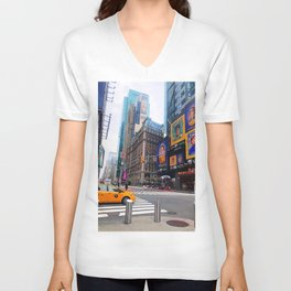 Taxi! - NYC series II. -  Unisex V-Neck