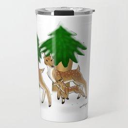 Winter herd Travel Mug