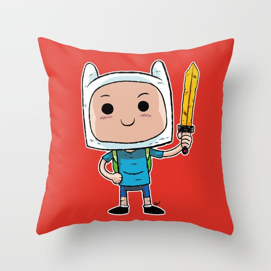 What Time Is It? Throw Pillow