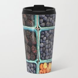 Berries At Market Travel Mug