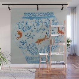 Goldfish Ginger Jar  Wall Mural