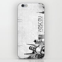 moscow iPhone & iPod Skins featuring Moscow by Yan-k