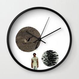 Les deux lunes Wall Clock