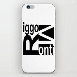 Riggo Monti  Design #8 - Riggo Monti Deco Tile Design iPhone Skin