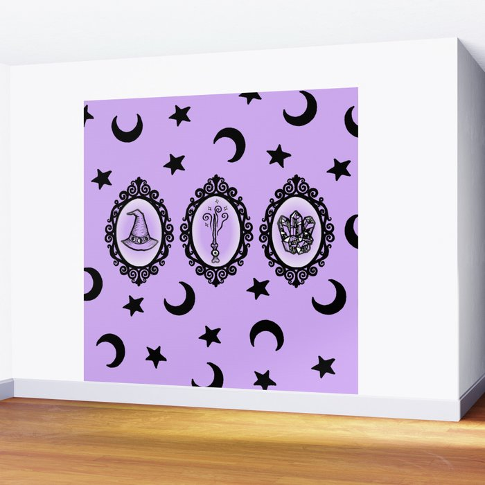Witch Essentials Wall Mural