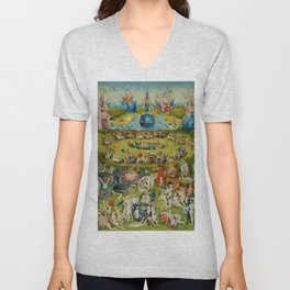 "Hieronymus Bosch ""The Garden of Earthly Delights"" Unisex V-Neck"
