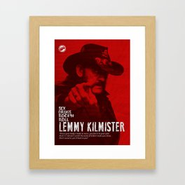 Lemmy Framed Art Print