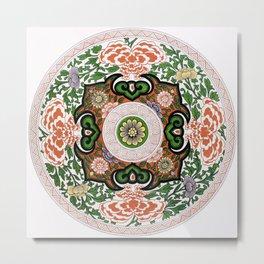 Chinese Ornament II Metal Print