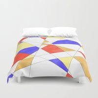 circus Duvet Covers featuring Circus by Natalie North