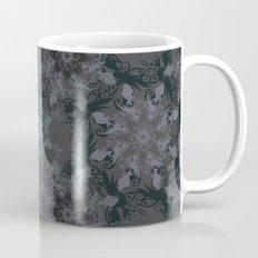 Damask, grey Mug