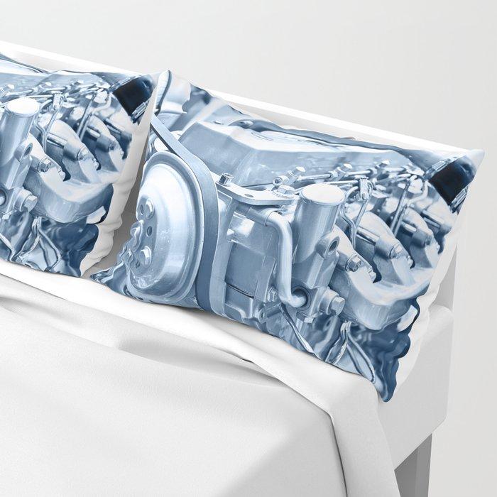Turbo Diesel Engine Pillow Sham