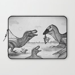 Dinolongia Confrontation Laptop Sleeve