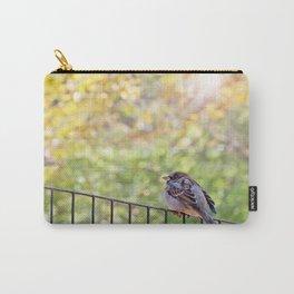 Bird, Central Park, New York City Carry-All Pouch