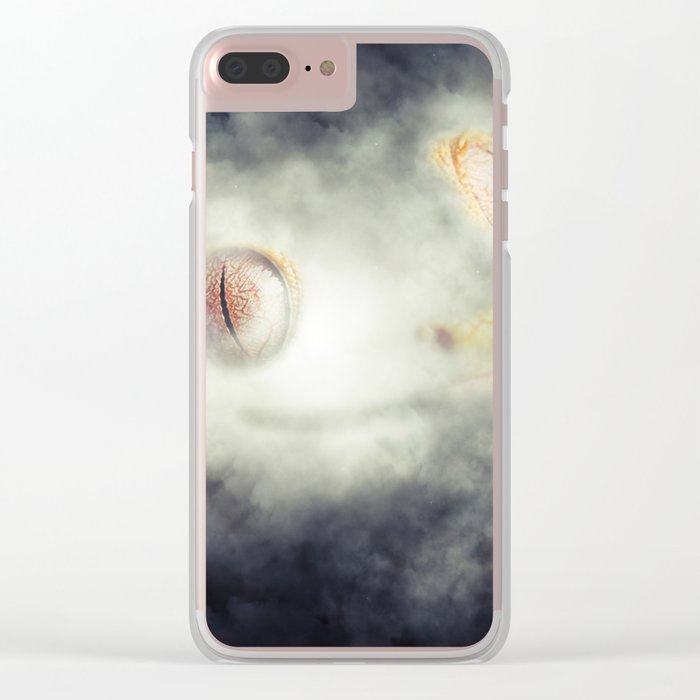 Frog Fog Clear iPhone Case