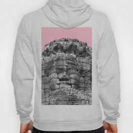 Buddha face with pink Hoody