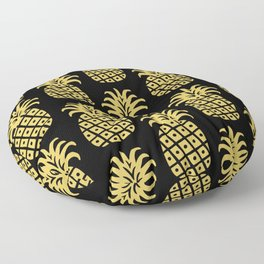 Retro Mid Century Modern Pineapple Pattern 540 Floor Pillow