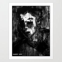 Pain Art Print