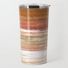 Coconut abstract watercolor Travel Mug