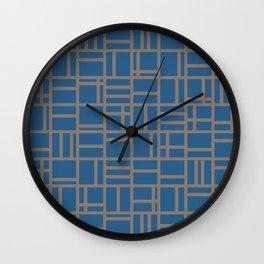 kutije v.6 Wall Clock