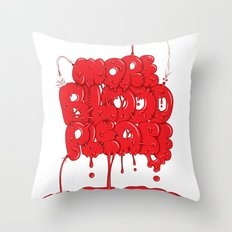More Blood Please Throw Pillow