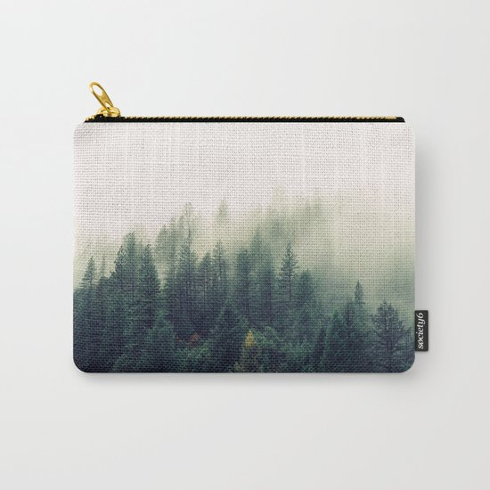The Foggy Forest Carry-All Pouch