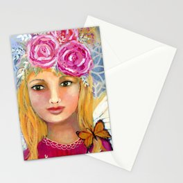 """""""Butterfly Fairy"""" Stationery Cards"""