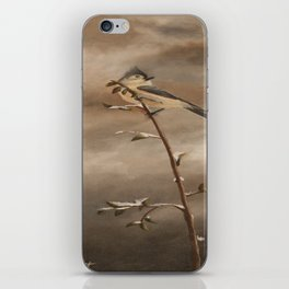 A Lonely Lady Tuft iPhone Skin