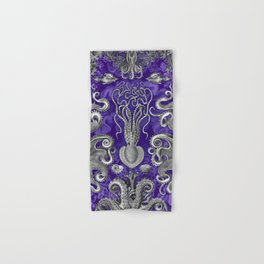 The Kraken (Purple - No Text) Hand & Bath Towel