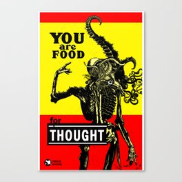 FOOD FOR THOUGHT - GMB CHOMICHUK Canvas Print