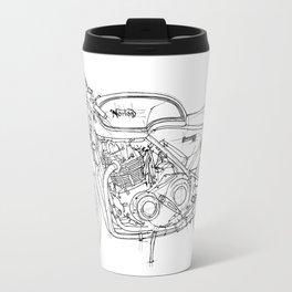 NORTON COMMANDO 961 CAFE RACER 2011 Travel Mug