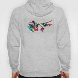 Hummingbird Art - Tropical Chorus - By Sharon Cummings Hoody