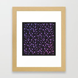 The Future: In Pastel Framed Art Print