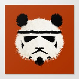 Panda Trooper Canvas Print