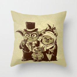 a (very) long time ago Throw Pillow