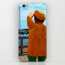 Watchman and the Wharf iPhone Skin