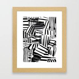 Kollage n°32 Framed Art Print