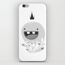 King Lip of the Squiggles iPhone Skin